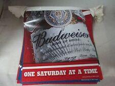 NEW  Bud Ligh-Budweiser- Beer String Banner Bud Florida Football  Man Cave