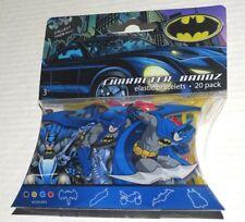 DC Comics Batman Character Bandz Elastic Bracelets 20 pack car cycle flaw