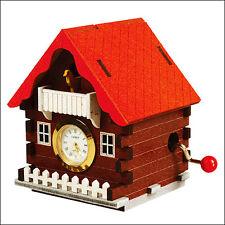 YM864-2 Orgel & Clock Series Cuckoo House Wooden Model Kit