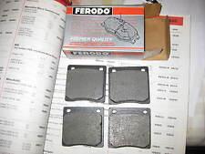 Plaquettes de frein-s' adapte: DATSUN CHERRY 100 A & F11 & SUNNY 120Y & Honda Civic (1970-79)