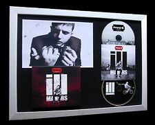 PLAN B+SIGNED+FRAMED+ILL MANORS+STRICKLAND=100% AUTHENTIC+EXPRESS GLOBAL SHIP!!