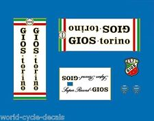 Gios Torino Super Record bicyclette decals-transfers-autocollants #22