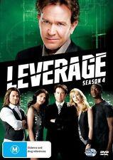 Leverage : Season 4 (DVD, 2012, 4-Disc Set)