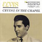 """ELVIS PRESLEY Crying In The Chapel PIC SLEEVE 7"""" 45 NEW RED VINYL + juke strip"""