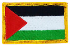 FLAG PATCH PATCHES PALESTINE PALESTINIAN IRON ON COUNTRY EMBROIDERED SMALL