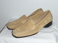New$475 5 Salvatore Ferragamo Tan SUEDE LEATHER Loafers Shoes ITALY 35 Nordstrom