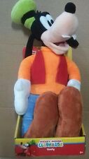 """New Disney Junior Mickey Mouse Clubhouse """"GOOFY"""" Plush Toy from Just Play 18"""""""