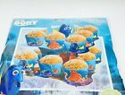 Disney Pixar Finding Dory Nemo Fold and Serve 2 Tier Cupcake Snack Stand 9 inch