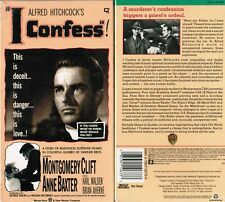 I Confess VHS Video Tape New Alfred Hitchcock Montgomery Clift Anne Baxter