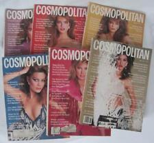 6 Vintage Cosmopolitan Magazines 1981 Brooke Kelly Lisa Janice Scavullo