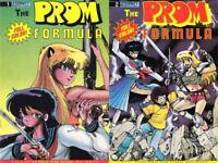 Prom Formula Set Ninja High School Ben Dunn Robert DeJesus Asrial NHS 1 2 NM