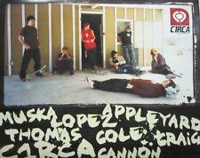 CIRCA vintage 2000 Chad Muska Jamie Thomas skateboard team dealer poster New