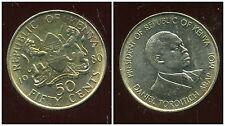 KENYA 50 cent 1980  ( bis )