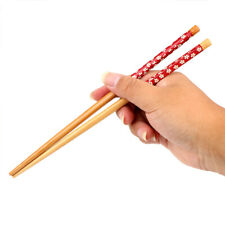 2 Pairs Chinese Classic wooden Chopsticks Natural Bamboo Chopsticks