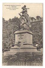 "belfort , la statue "" quand même "" de A. mercié"