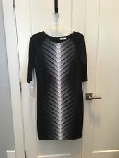 A&A Collection Dress 3/4 Sleeve Color Black Size XL