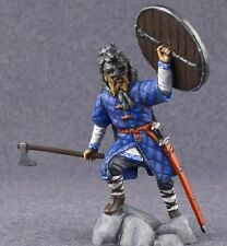 Toy Soldier Viking Warrior Norman Ulfhednar Painted 1/32 Knight 54mm Metal