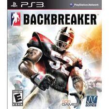 Backbreaker For PlayStation 3 PS3 Football Very Good