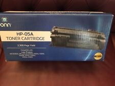 Onn HP-05A Black Laser Toner Cartridge, Brand New Sealed