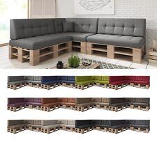 8er Set / Einzelkissen Palettenkissen Palettenauflage Sitzkissen Sofa Kaltschaum