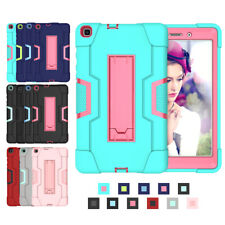"""For Samsung Galaxy Tab A 8.0"""" SM-T290 Hybrid Silicone Case Hard Back Stand Cover"""