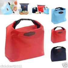 Iconic Hot-Cold Thermal Insulation Lunch Picnic Travel Pouch Bag-Red