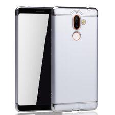 Téléphone Portable Étui Housse Coque pour nokia 7 Plus Pare-Chocs 3 IN 1 Argent