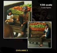 1/35 Resin Figure Model Kit Vietnam War Vietnamese Citizens Unpainted Unassamble