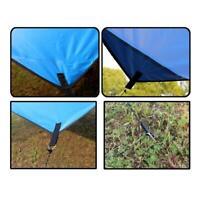 Waterproof Camping Tent Tarp Outdoor Shade Sun Rain Canopy Hot Mat Shelter I2O3