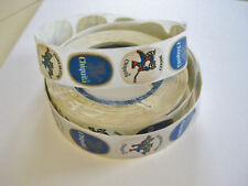 Chiquita Banana Stickers 1980 Winter OLYMPICS Raccoon Stickers fm Original Roll