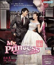 Korean Drama My Princess (TV Series) DVD Good English Sub Region All