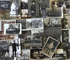 Lot /  Konvolut 50 Orig. Militär Fotos  Soldaten Uniform 1. Weltkrieg