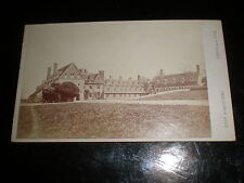 Cdv old photograph Bradfield College by Hills & Saunders c1860s