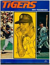 1971 Detroit Tigers Yearbook - Autographed by Al Kaline & Willie Horton!!
