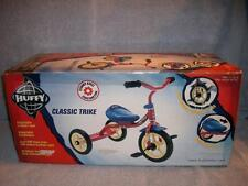 Huffy Classic Red Blue Trike Soft In/Outdoor Tires Adjustable Seat 39007 Sealed