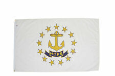 Allied Flag - 3 x 5 Outdoor Nylon Rhode Island State Flag - Made in USA - Vivid