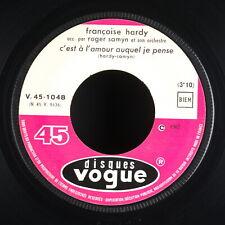 FRANCOISE HARDY - Jukebox C'est à l'amour auquel je pense SP 45 tours