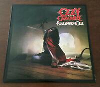 Ozzy Osbourne - Blizzard Of Ozz 1st Greek Press 1981 Vinyl LP Epic V.Rare VG+/EX