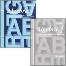 Saxon Math Algebra 1/2 Homeschool Packet with Answer Key and Tests 3rd Edition