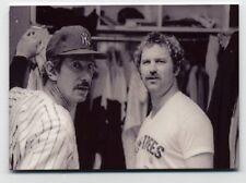 Thurman Munson and Billy Martin METAL baseball card - New York Yankees