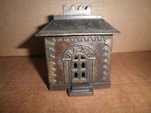 Wonderful old original cast iron Crown Bank building still bank 1873 -1907