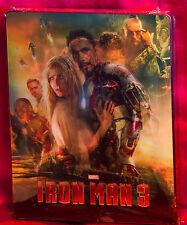 Iron Man 3 3D + 2D Blu Ray Lenticular Steelbook™ Collector's Edition Region Free
