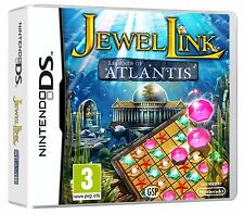 Jewel Link Legends of Atlantis Game DS Nintendo NDS DS Lite DSi XL Brand New