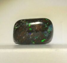 Natural Queensland Boulder Opal Tumbled Piece Nice Play Of Color 2.85ct