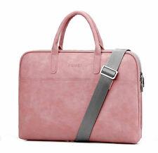 Soft Leather Laptop Notebook Messenger Shoulder Bag Carrying Case 13 14 15 17
