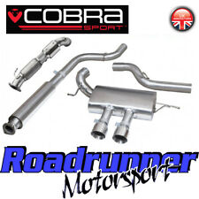 """COBRA FOCUS ST250 MK3 Turbo posteriore di scarico 3"""" Edif & SPORT CAT il tubo verticale FD47a"""