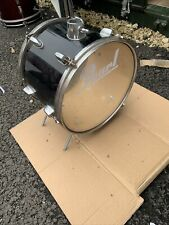 "Free P&P. 13"" Bass Drum with Pedal. Converted Tom. Great For Busking FT103014"