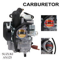 Carburetor Carb 26mm 34mm 50mm for SUZUKI AN125 Scooter Motorcycle Part Kit ATV