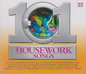 101 HOUSEWORK SONGS: VARIOUS ARTISTS (5CD)