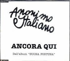 ANONIMO ITALIANO Ancora Qui CD Single Promo 1 track Ottime condizioni